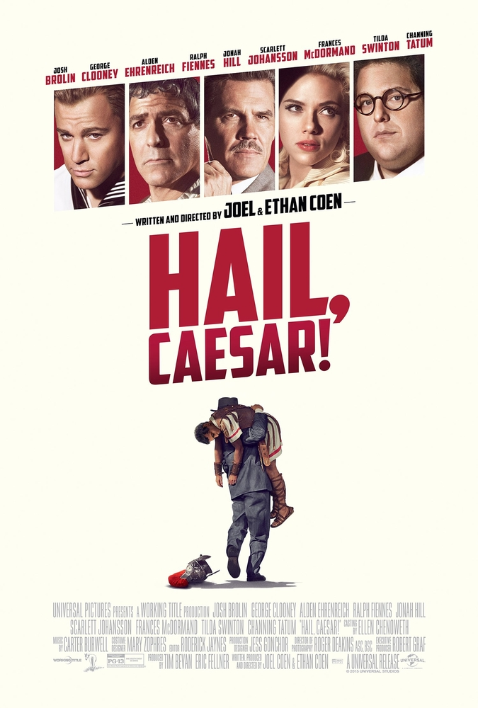 Hail, Caesar! Movie Cover