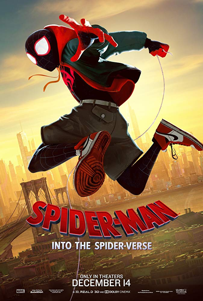 Spider-Man: Into the Spider-Verse Movie Cover
