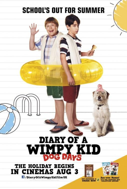 Diary of a Wimpy Kid: Dog Days Movie Cover