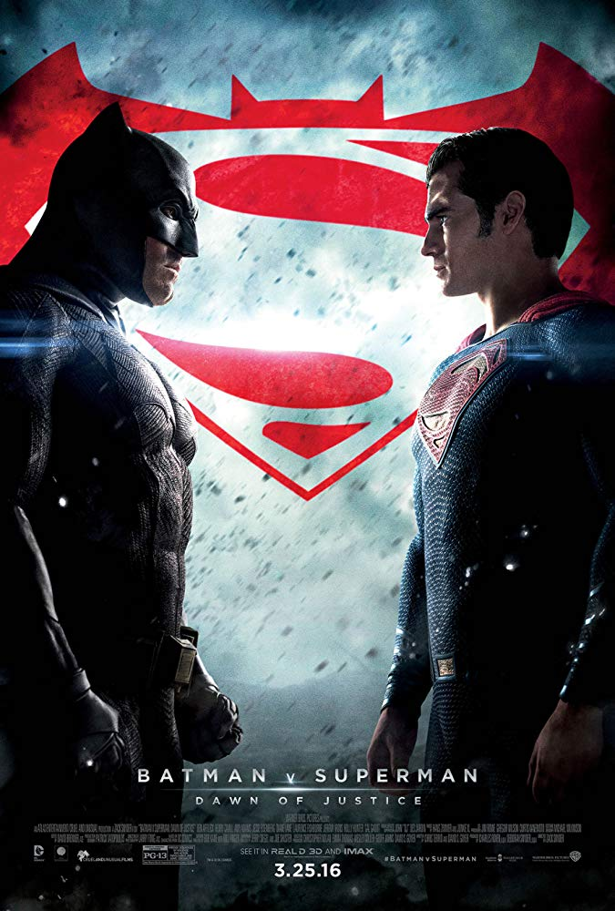 Batman v Superman: Dawn of Justice Movie Cover