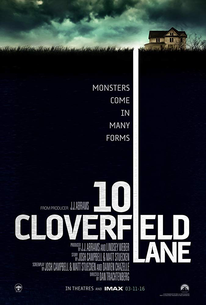 10 Cloverfield Lane Movie Cover