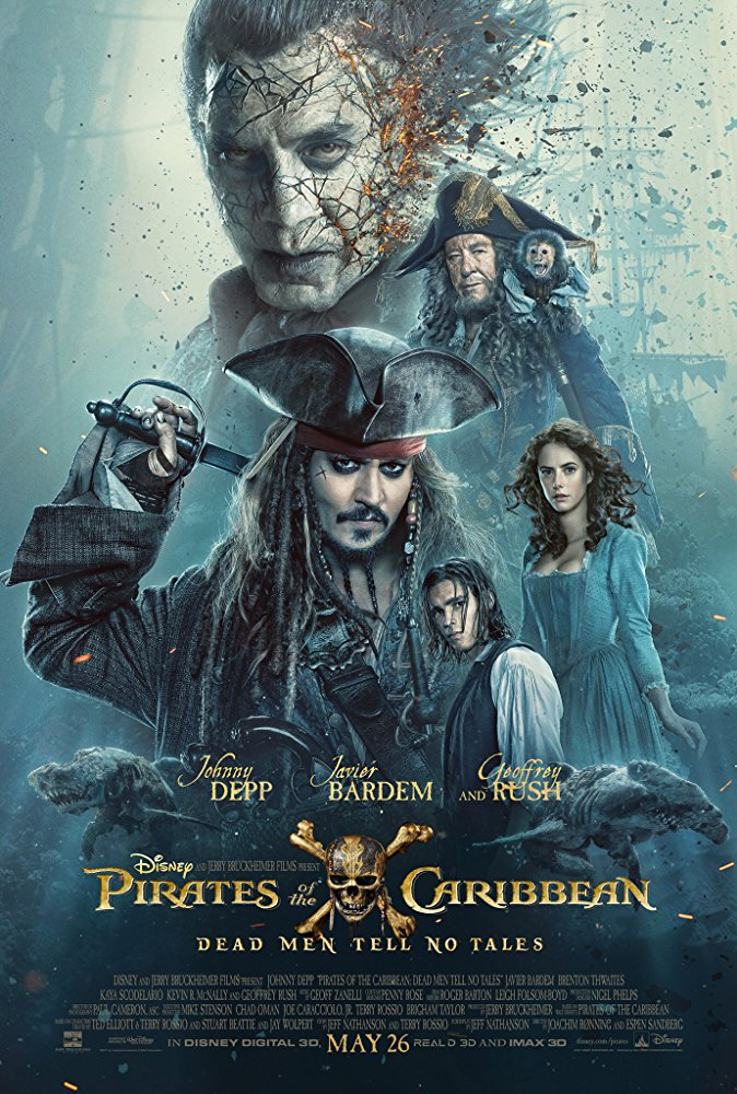Pirates of the Caribbean 5: Dead Men Tell No Tales Movie Cover