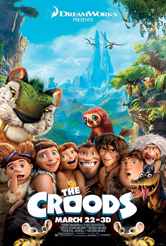 Croods, The Movie Cover