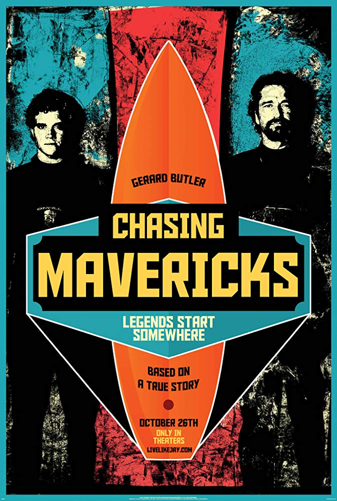 Chasing Mavericks Movie Cover