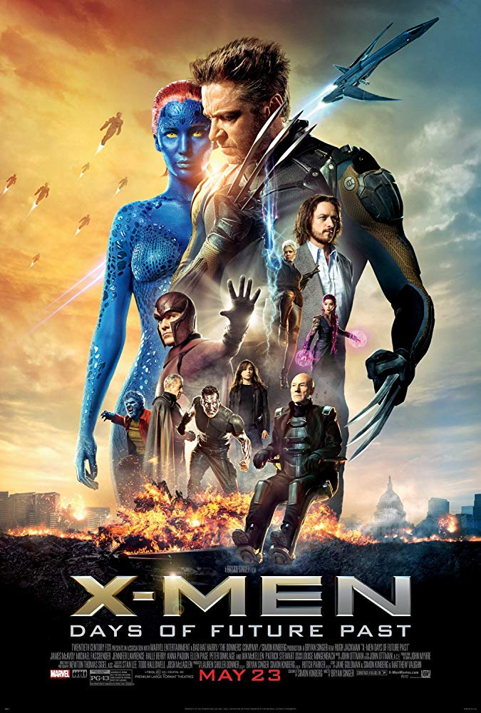 X-Men: Days of Future Past Movie Cover