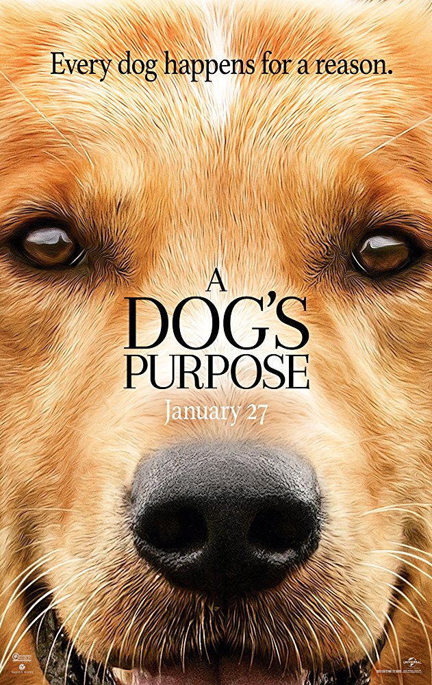 Dog's Purpose, A Movie Cover