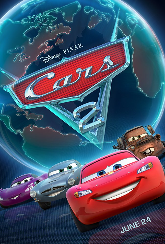 Cars 2 Movie Cover