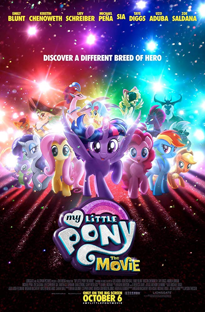 My Little Pony: The Movie Movie Cover