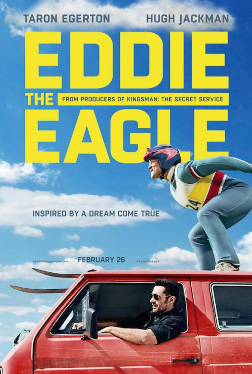 Eddie the Eagle Movie Cover