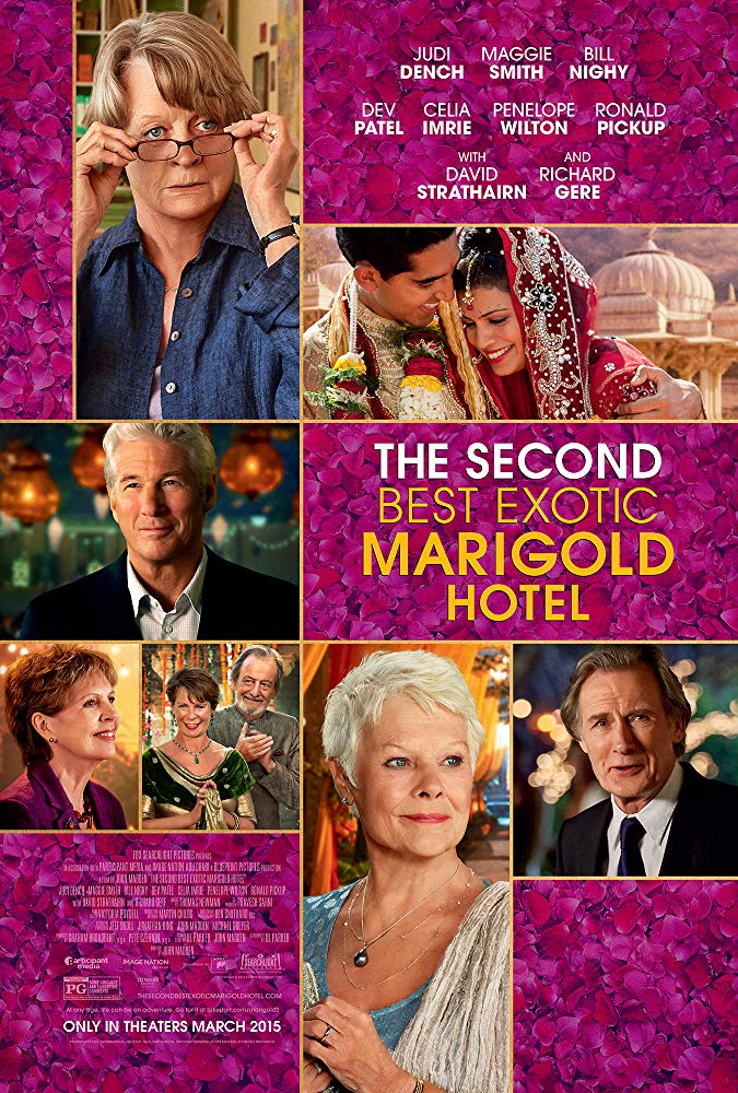 Second Best Exotic Marigold Hotel, The Movie Cover