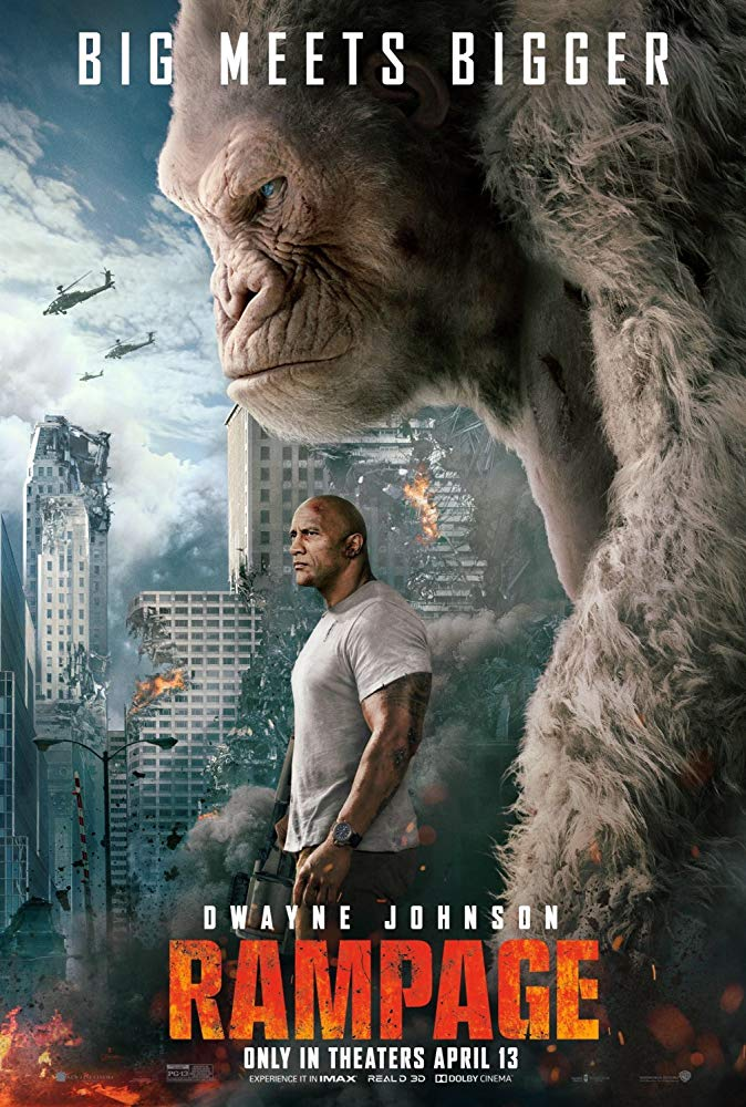 Rampage Movie Cover