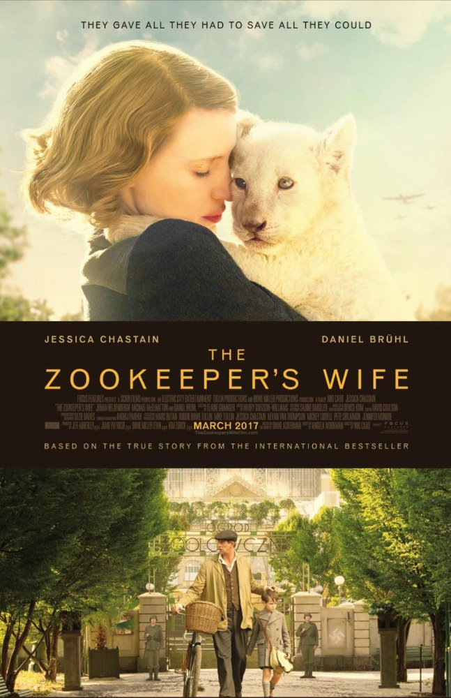 Zookeeper's Wife, The Movie Cover
