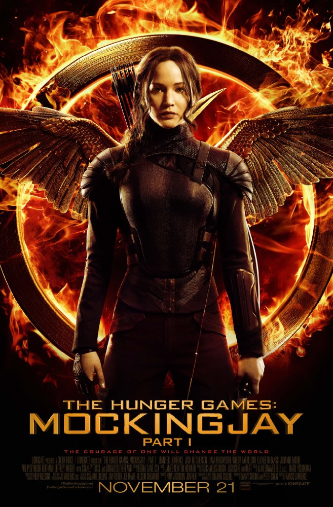 Hunger Games: Mockingjay, The - Pt. 1 Movie Cover