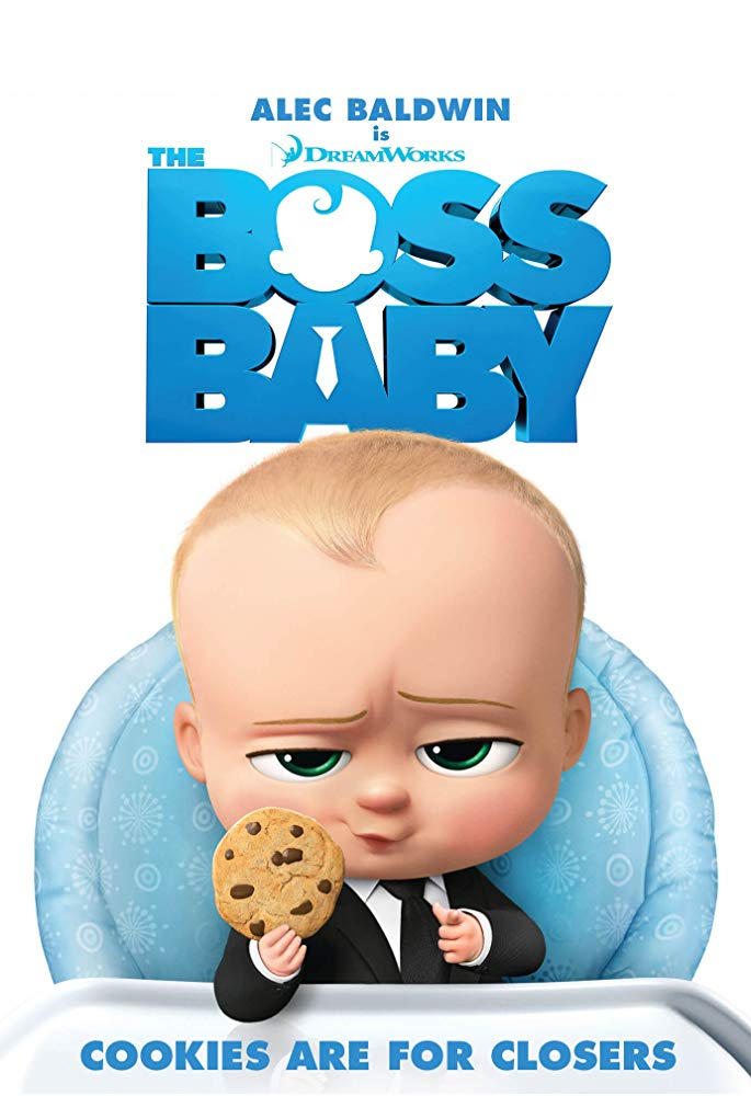 Boss Baby, The Movie Cover
