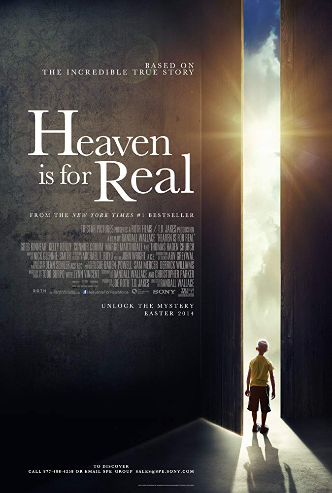 Heaven Is for Real Movie Cover