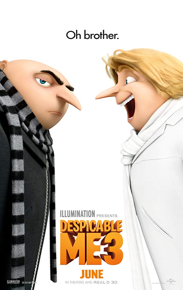 Despicable Me 3 Movie Cover