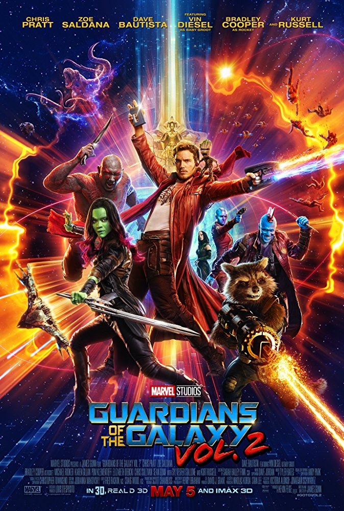 Guardians of the Galaxy Vol. 2 Movie Cover