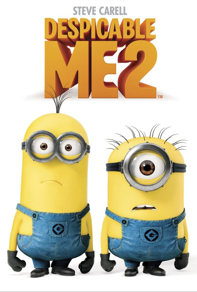 Despicable Me 2 Movie Cover