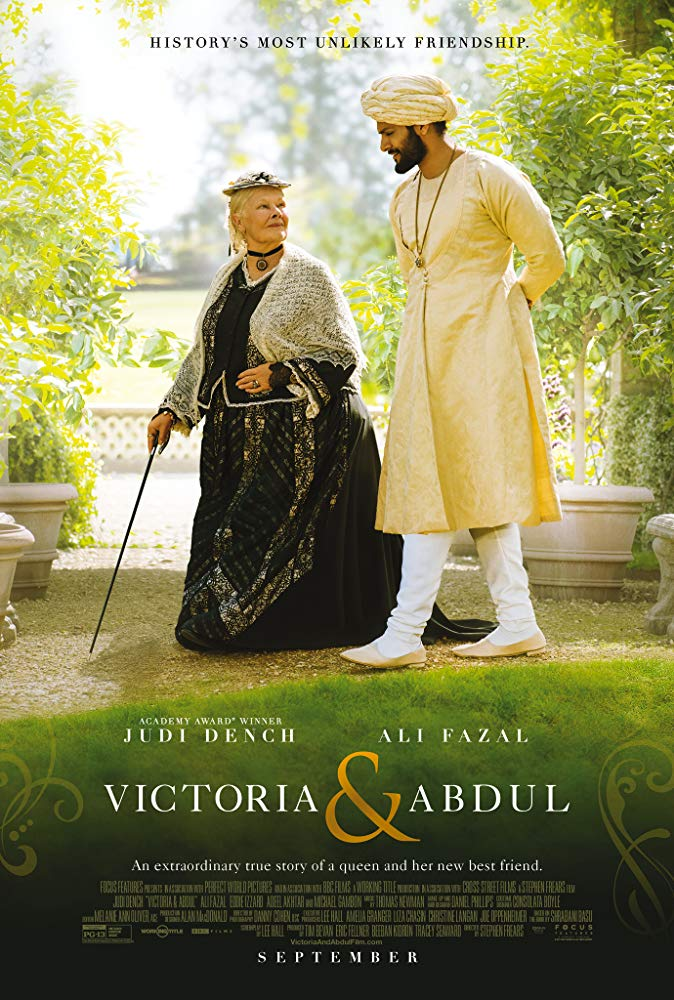 Victoria & Abdul Movie Cover