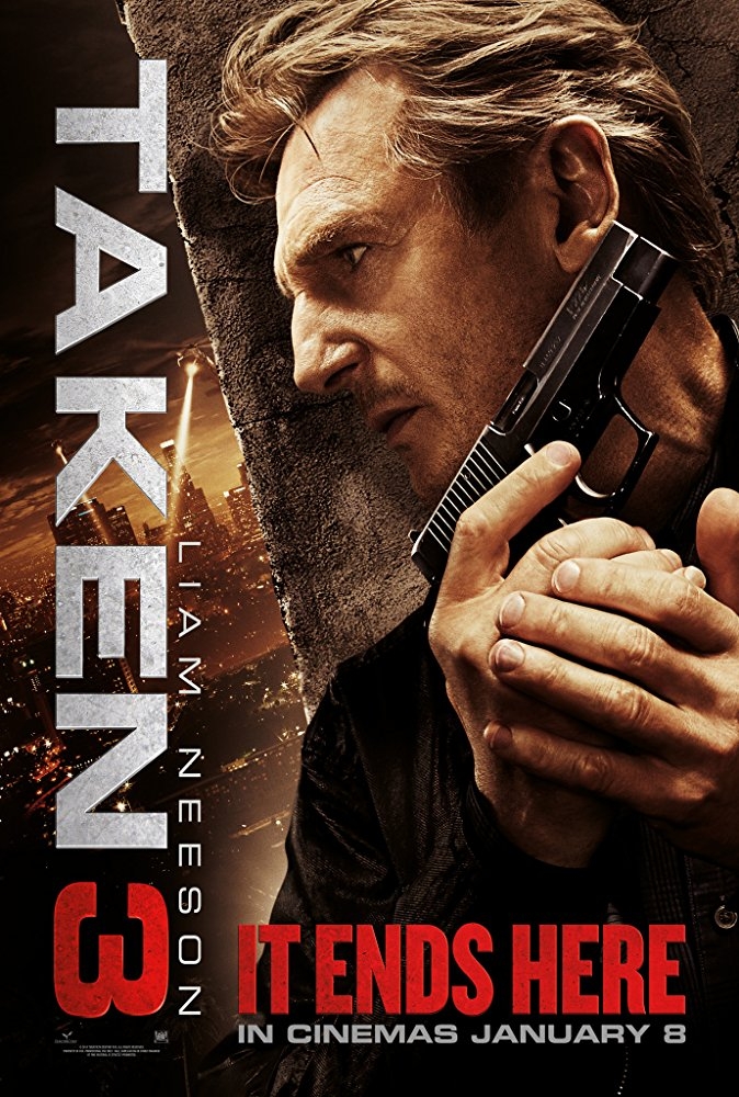 Taken 3 Movie Cover