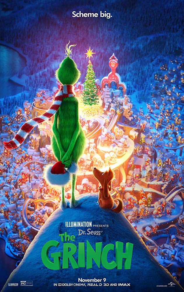 Grinch, The Movie Cover