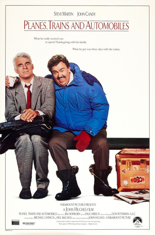 Planes, Trains and Automobiles Movie Cover