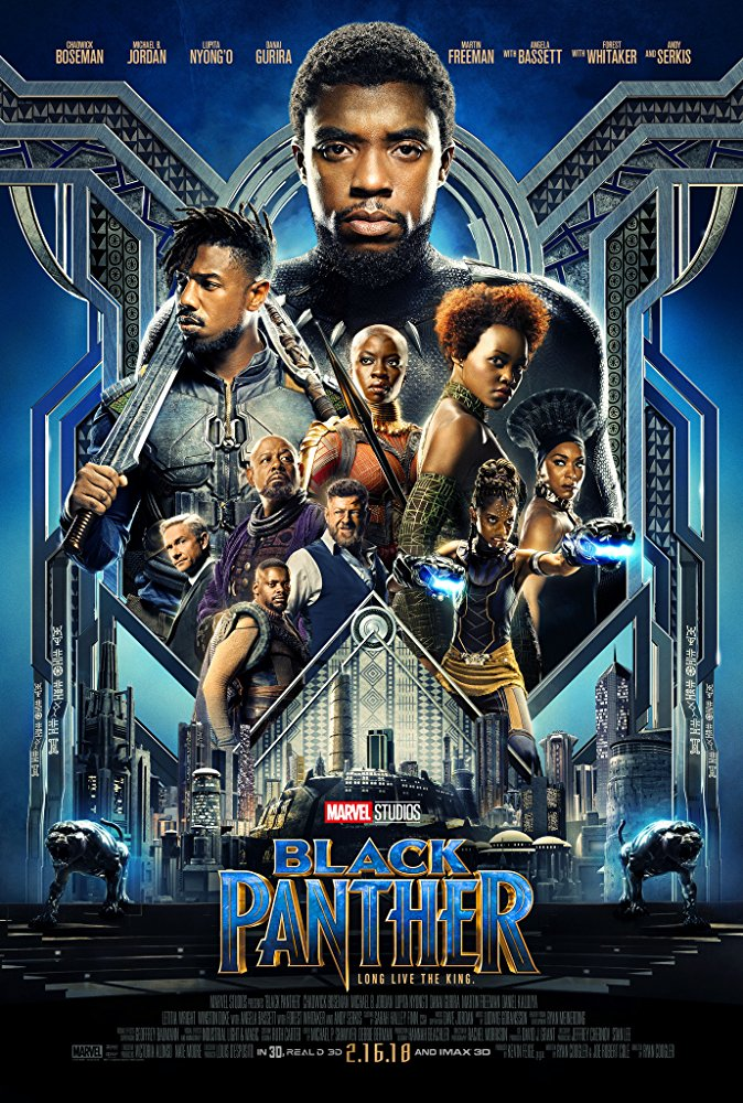 Black Panther Movie Cover