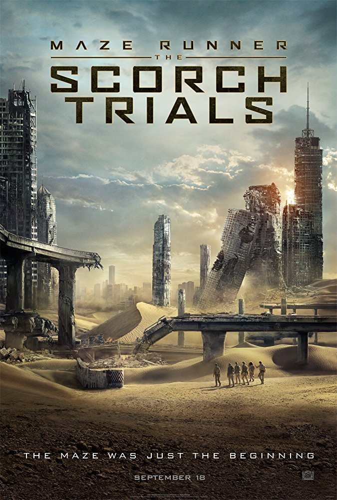Maze Runner: The Scorch Trials Movie Cover
