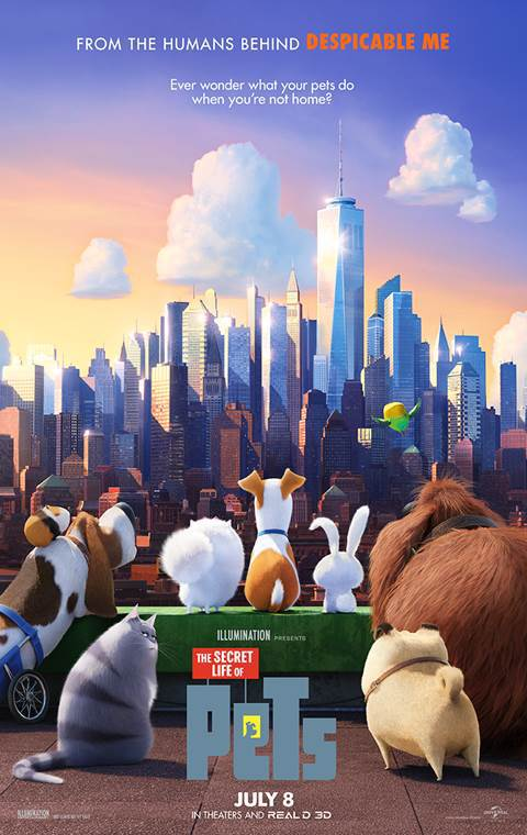 Secret Life of Pets, The Movie Cover
