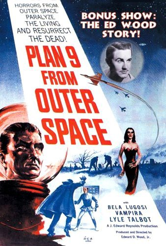 Plan 9 from Outer Space Movie Cover