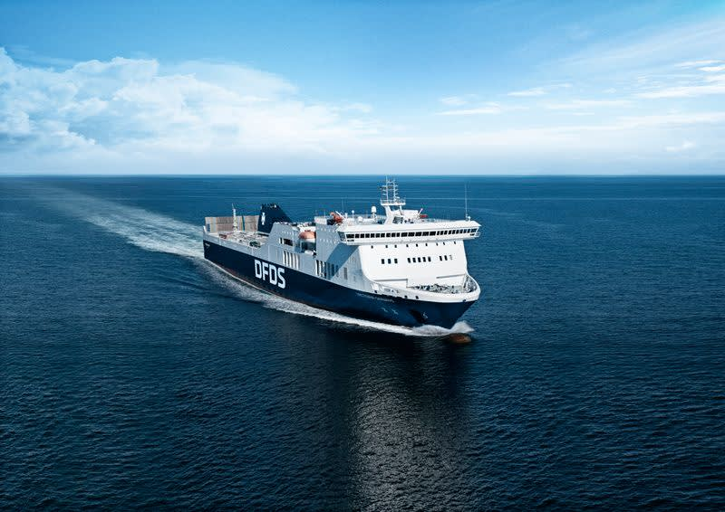 Victoria Seaways Fähre auf dem Meer