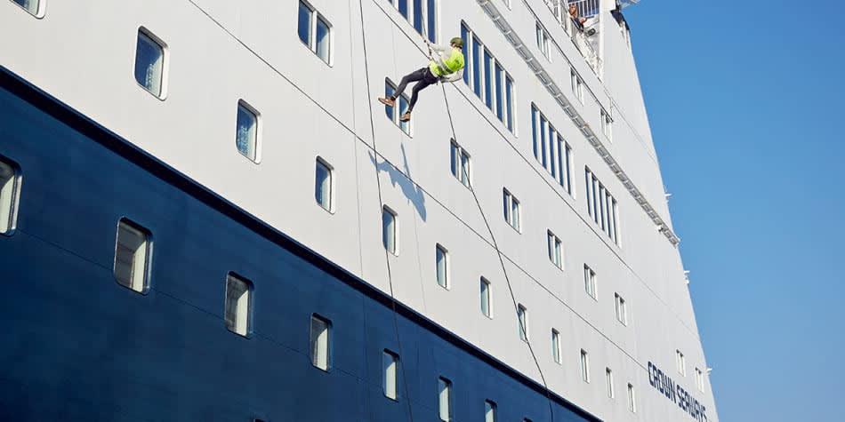 Aktiviteter for grupper på Oslobåden - rappelling