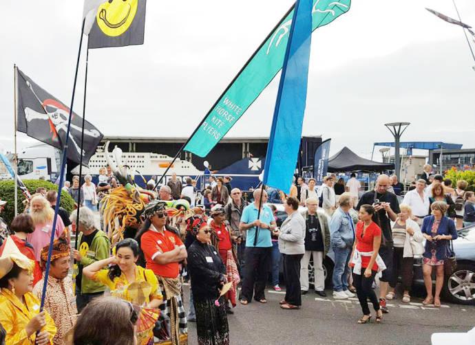 dieppe crowd 150, Jubilee, Dieppe