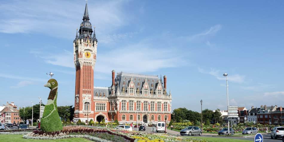 Calais Town Hall, France