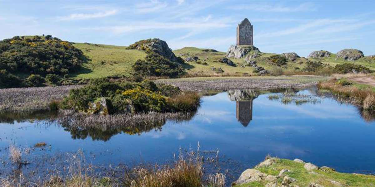 scottish borders smailholm tower IMAGE CREDIT: visitscotland