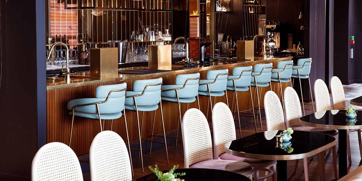 Resto bar på Oslo Clarion Hotel The Hub