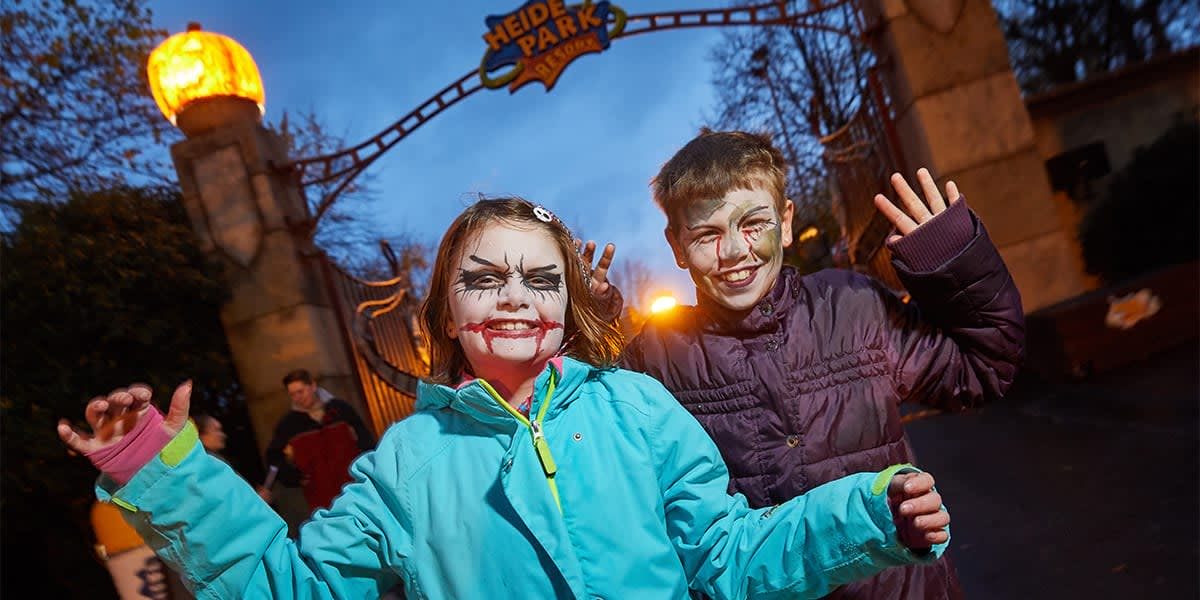 Halloween in Heide park