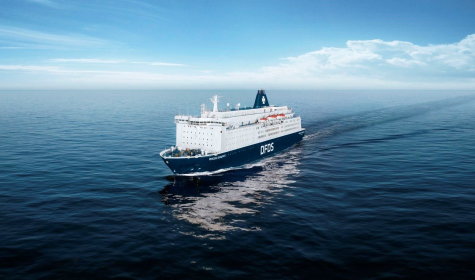 Princess Seaways sailing