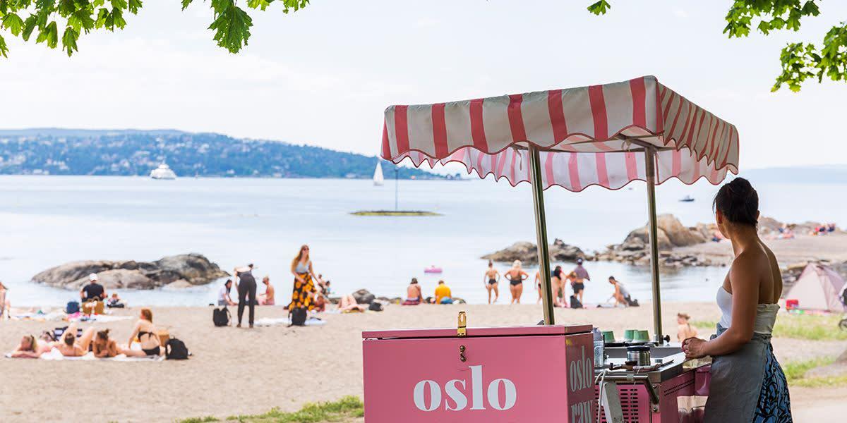 Huk strand in Oslo - Visitoslo - Photocredit Didrick Stenersen