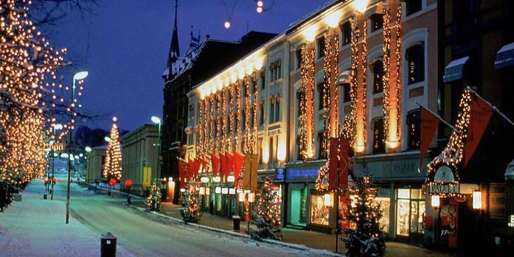 Karl Johans Street Christmas, Image credit: Visit Oslo