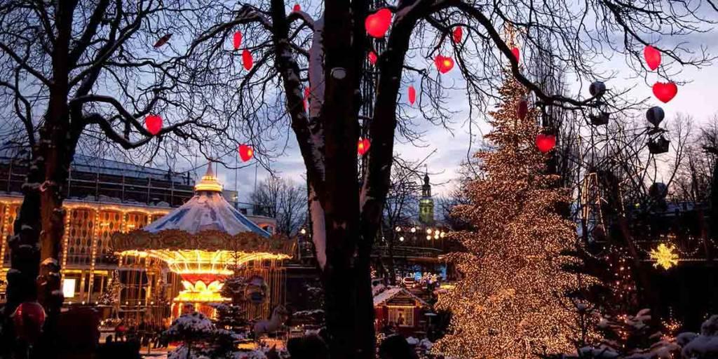 Tivoli park Copenhague