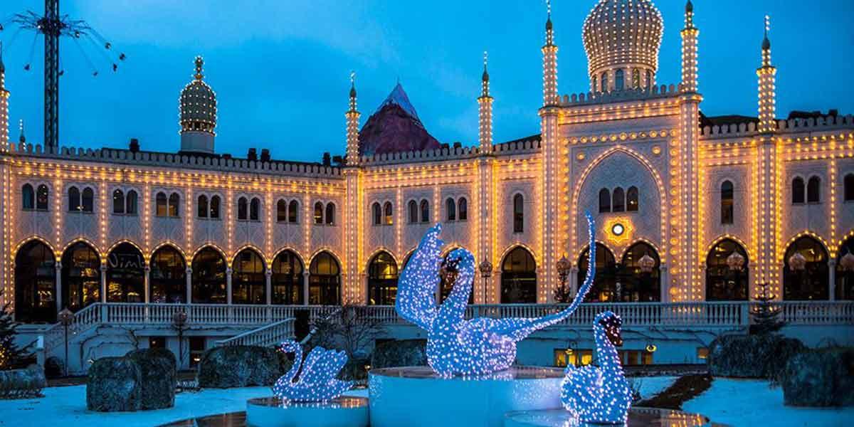 Tivoli Christmas - lights