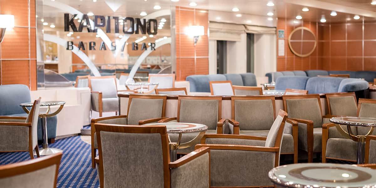 Kapitono bar - Athena ferry
