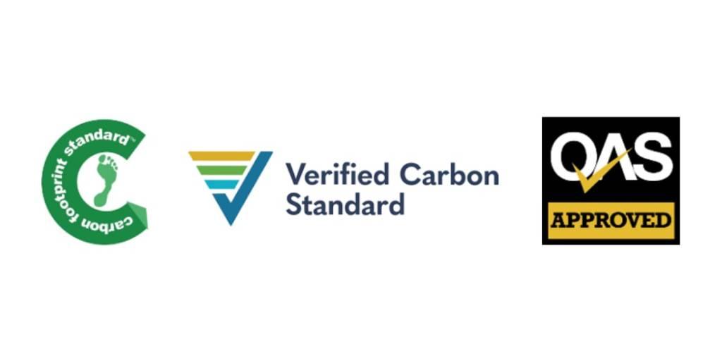 Carbon offsetting logos