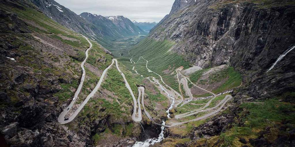 Nature in Norway - Trollstigen - Photocredit Ivars Utinsns