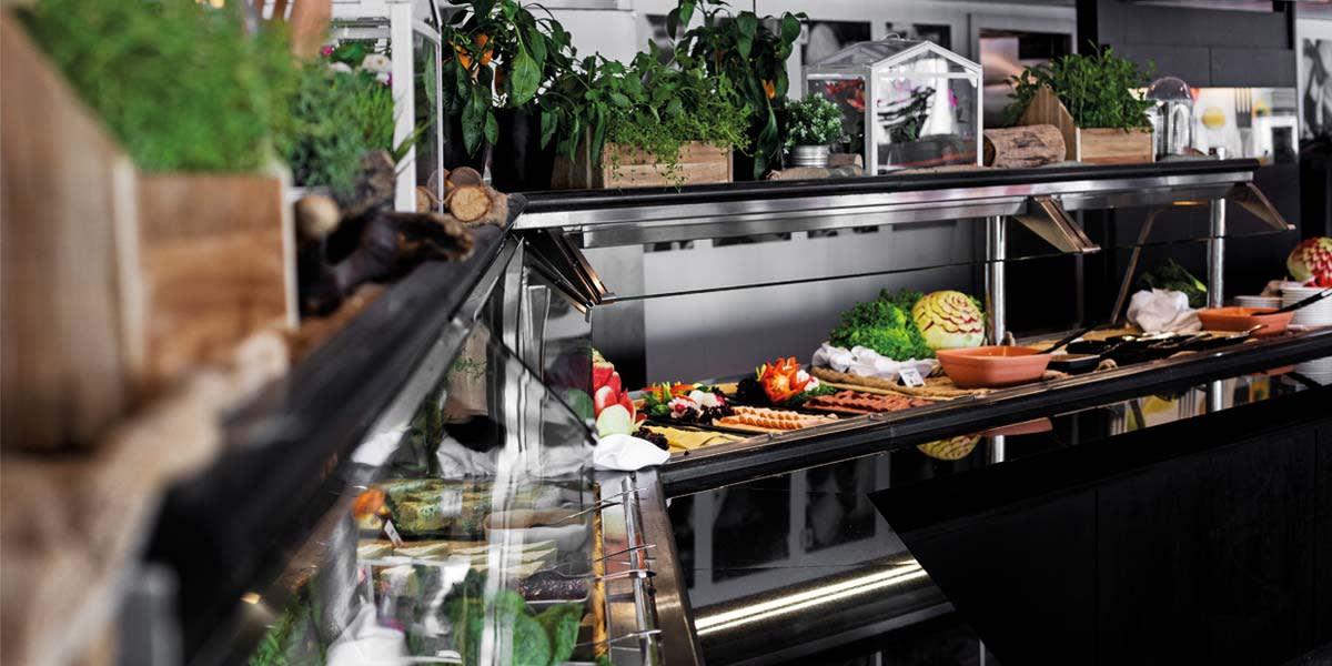 Explorers Kitchen onboard Newcastle-Amsterdam