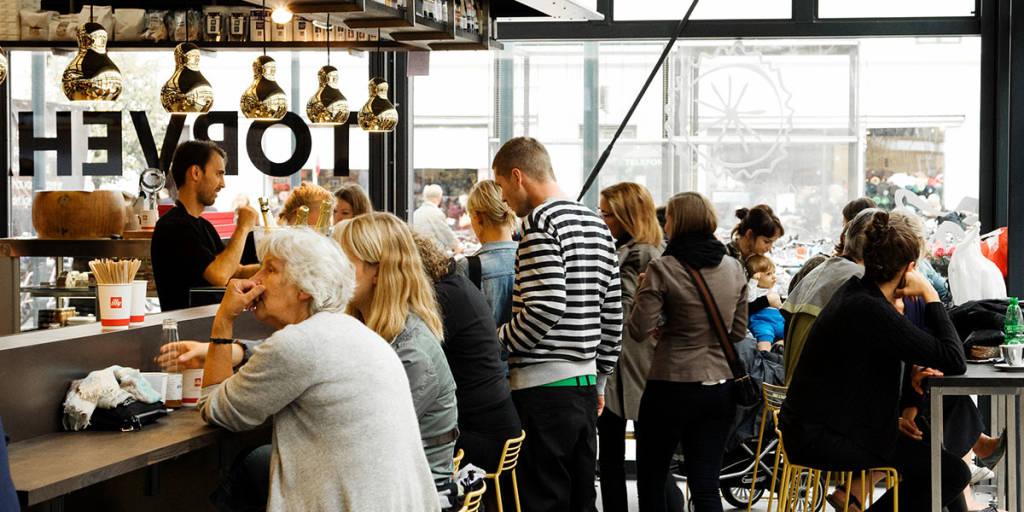 Food court, Copenhagen -  Photo Credit: Mikkel Heriba