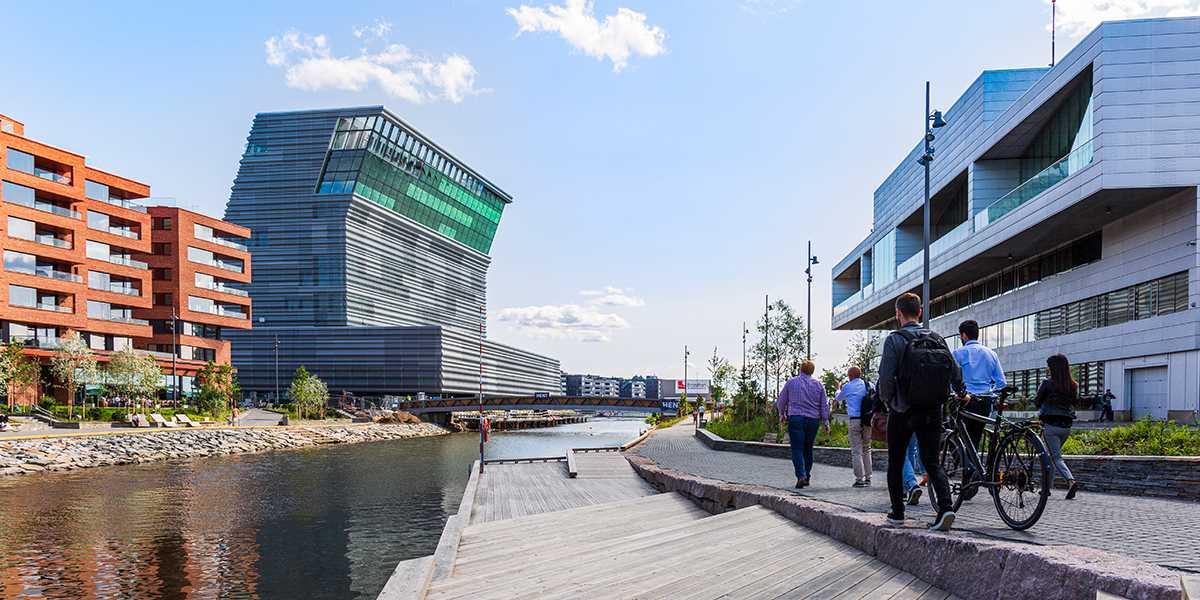 Oslo with the new Munch museum - Photo Credit Didrick Stenersen