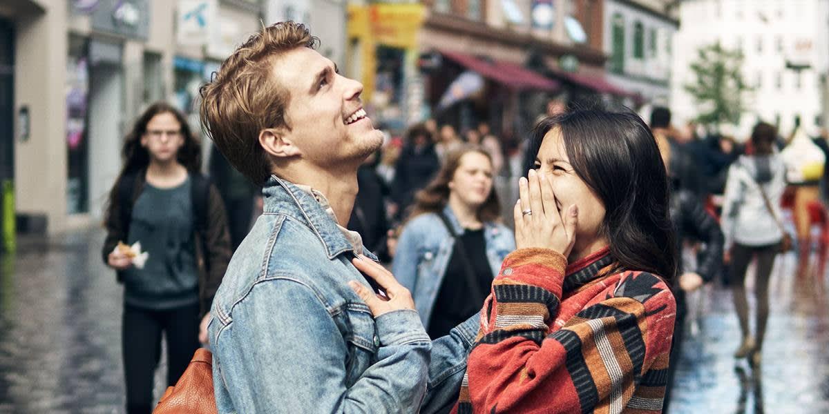 Par i gatene i København