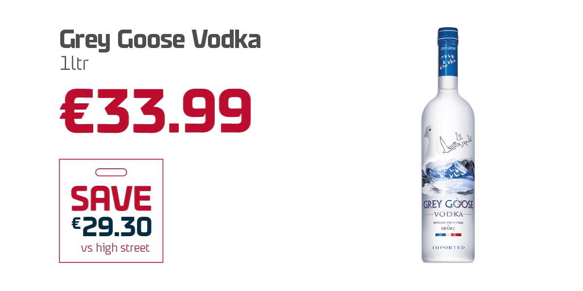 AN Duty Free Q3 - Grey Goose Vodka